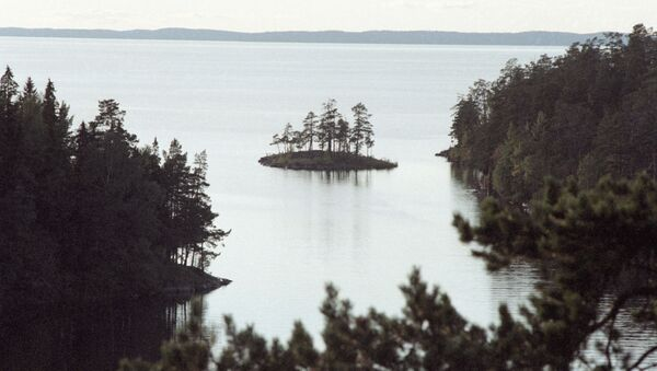 Widok na Jezioro Ładoga - Sputnik Polska