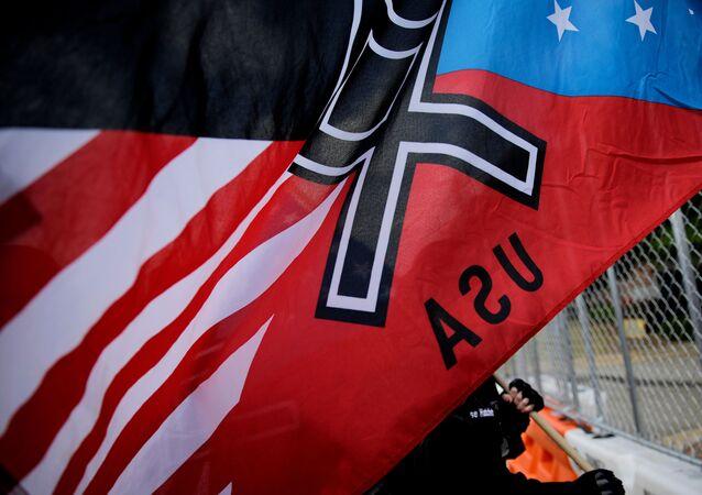Miting neonazistów, USA