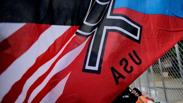 Miting neonazistów, USA - Sputnik Polska