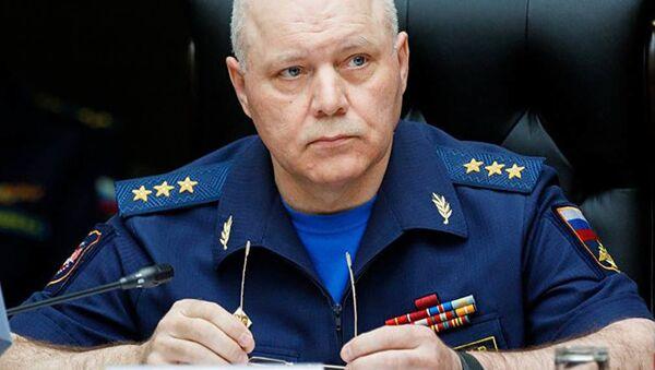 Szef Głównego Zarządu Wywiadowczego Sztabu Generalnego Sił Zbrojnych Federacji Rosyjskiej Igor Walentynowicz Korobow - Sputnik Polska