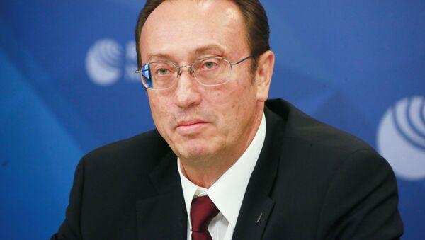 Dyrektor Departamentu ds. Nierozprzestrzeniania i Kontroli Zbrojeń Ministerstwa Spraw Zagranicznych Federacji Rosyjskiej Władimir Jewmakow - Sputnik Polska