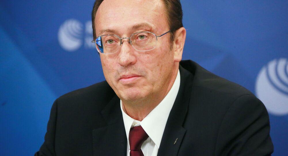 Dyrektor Departamentu ds. Nierozprzestrzeniania i Kontroli Zbrojeń Ministerstwa Spraw Zagranicznych Federacji Rosyjskiej Władimir Jewmakow