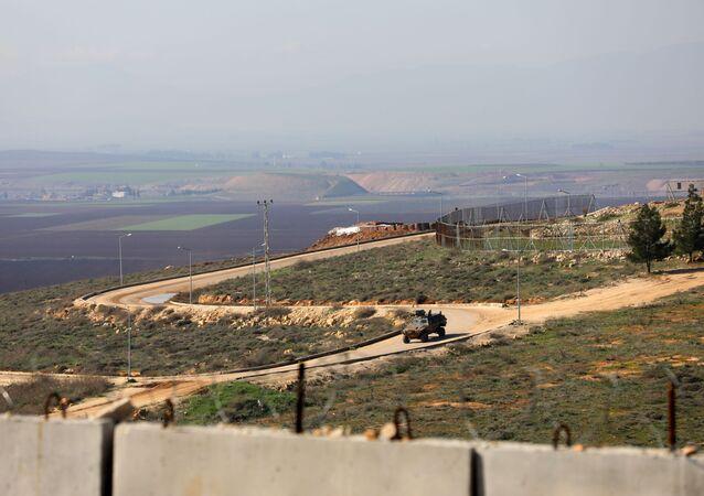 Granica Syrii i Turcji w prowincji Idlib