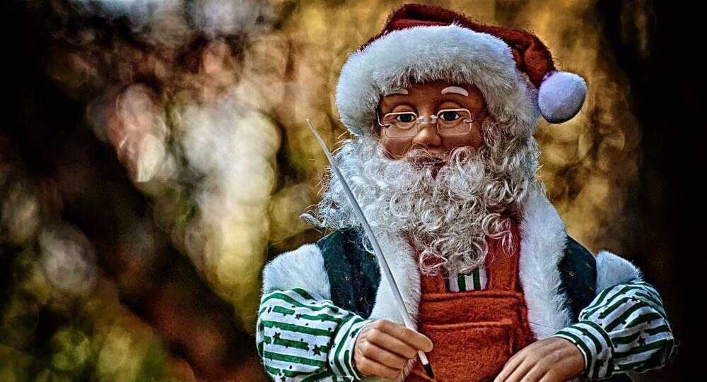 Figurka św. Mikołaja