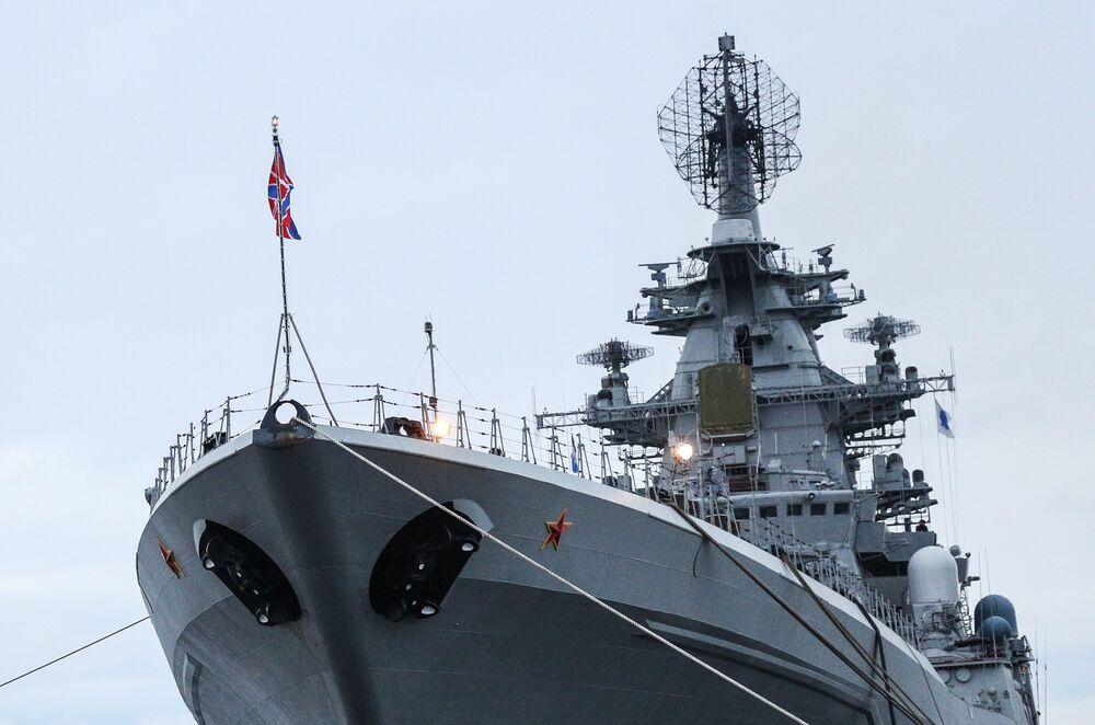 Krążownik rakietowy Piotr Wielikij