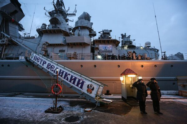 Krążownik rakietowy Piotr Wielikij - Sputnik Polska