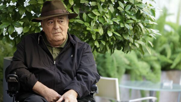 Włoski reżyser filmowy Bernardo Bertolucci. Zdjęcie archiwalne - Sputnik Polska
