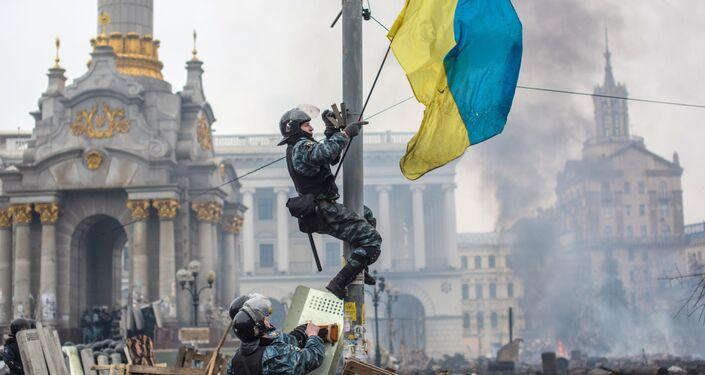 Euromajdan, 2014 rok
