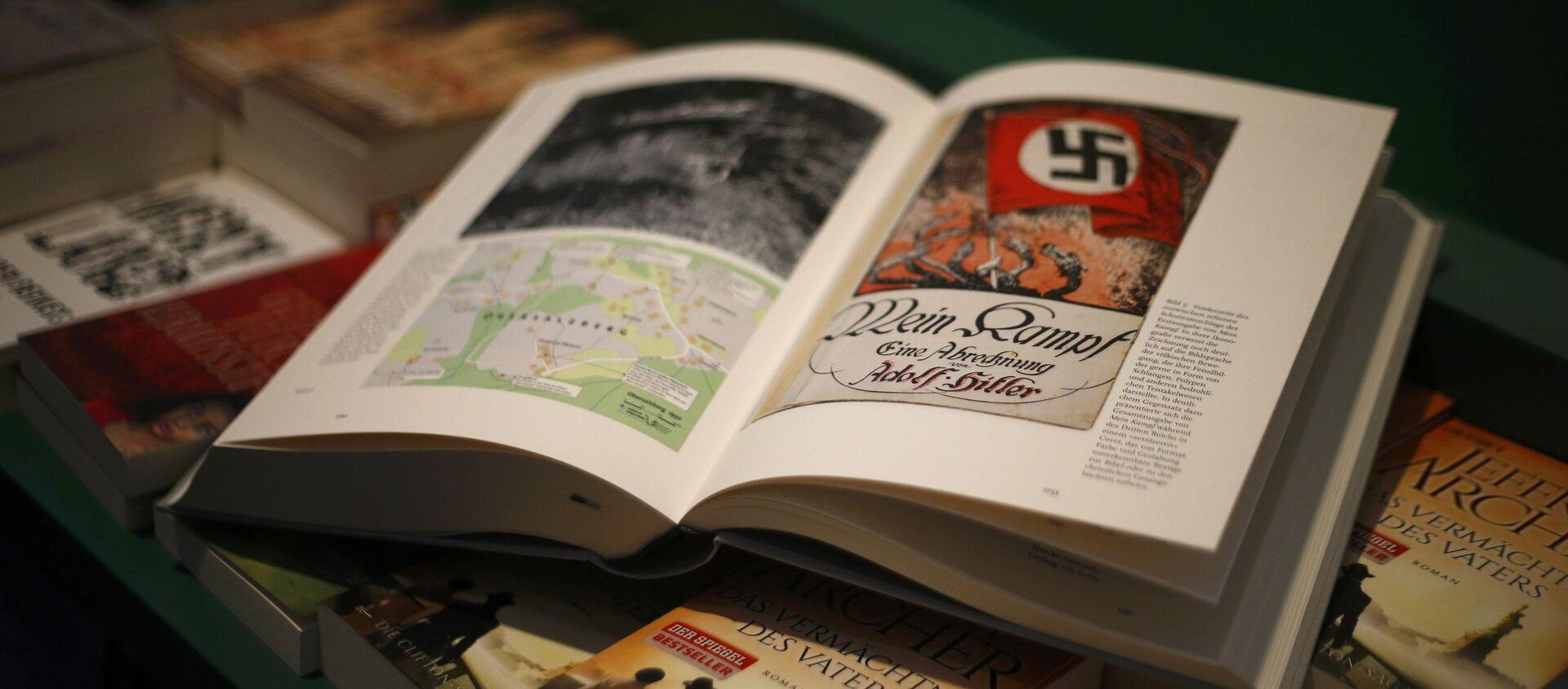 """""""Hitler. Mein Kampf. Wydanie krytyczne - Sputnik Polska, 1920, 22.02.2021"""
