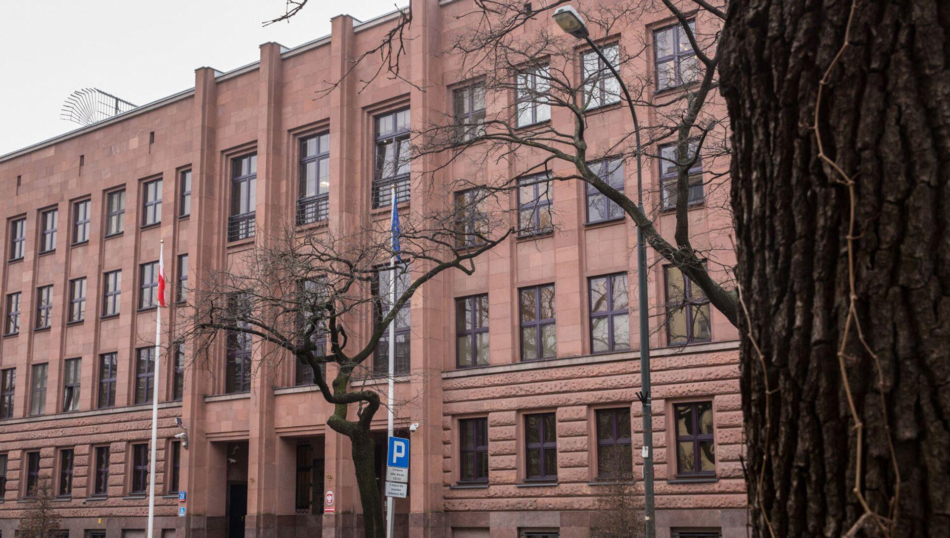Budynek MSZ Polski - Sputnik Polska, 1920, 04.06.2021