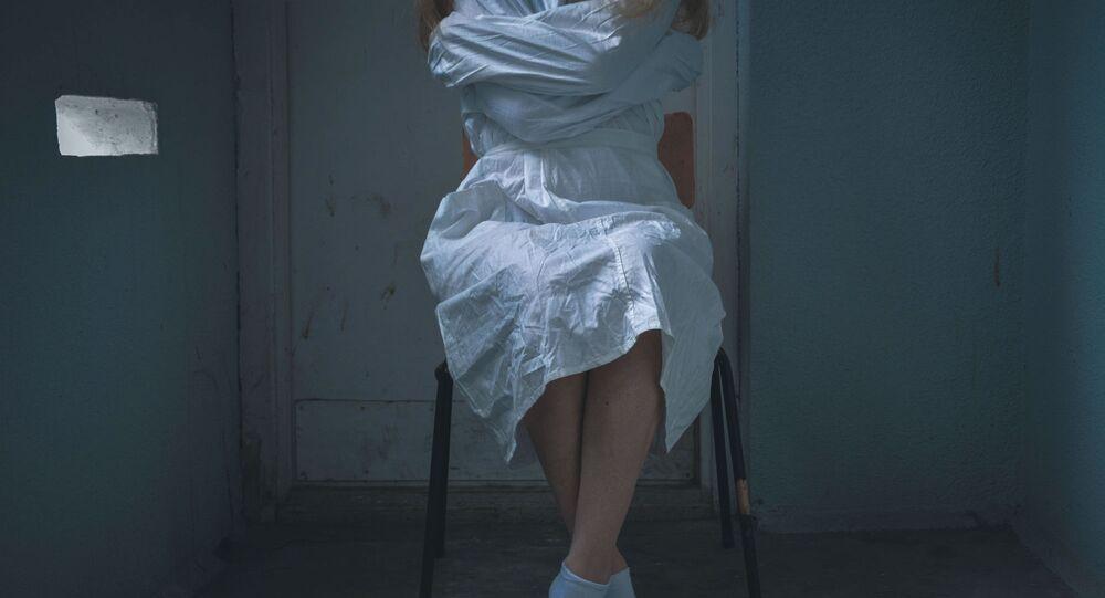 Pacjent kliniki psychiatrycznej
