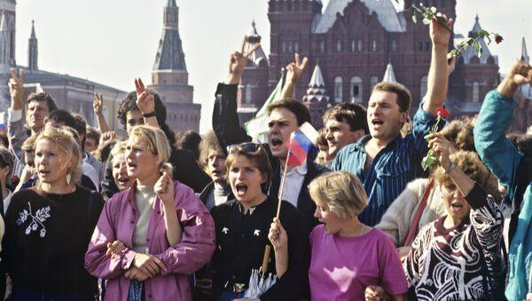 Moskwa, lata 90. - Sputnik Polska