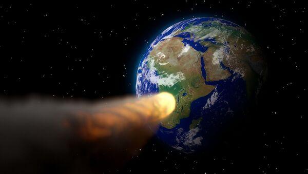 Asteroida zmierzająca w kierunku Ziemi - Sputnik Polska
