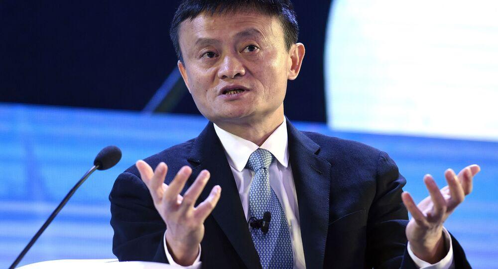 Przewodniczący rady dyrektorów Alibaba Group Jack Ma
