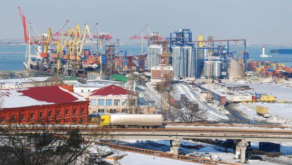 Morski port handlowy w Odessie - Sputnik Polska