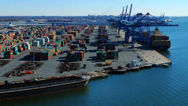 Port w amerykańskim mieście Baltimore - Sputnik Polska