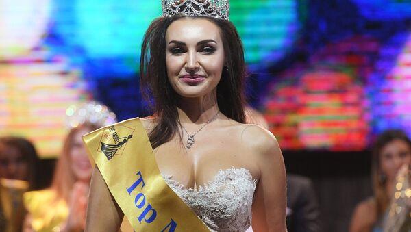 Anastazja Boksza nagrodzona w kategorii  Top model Plus 2018 - Sputnik Polska