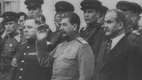 Historyczne spotkanie Roosevelta, Churchilla i Stalina w Teheranie - Sputnik Polska