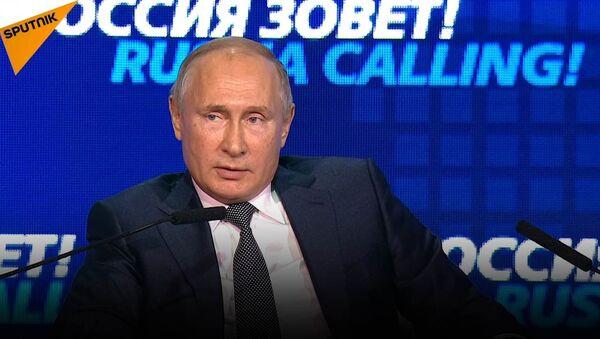 Putin: Nie chcemy rezygnować z dolara, to dolar odchodzi od nas - Sputnik Polska