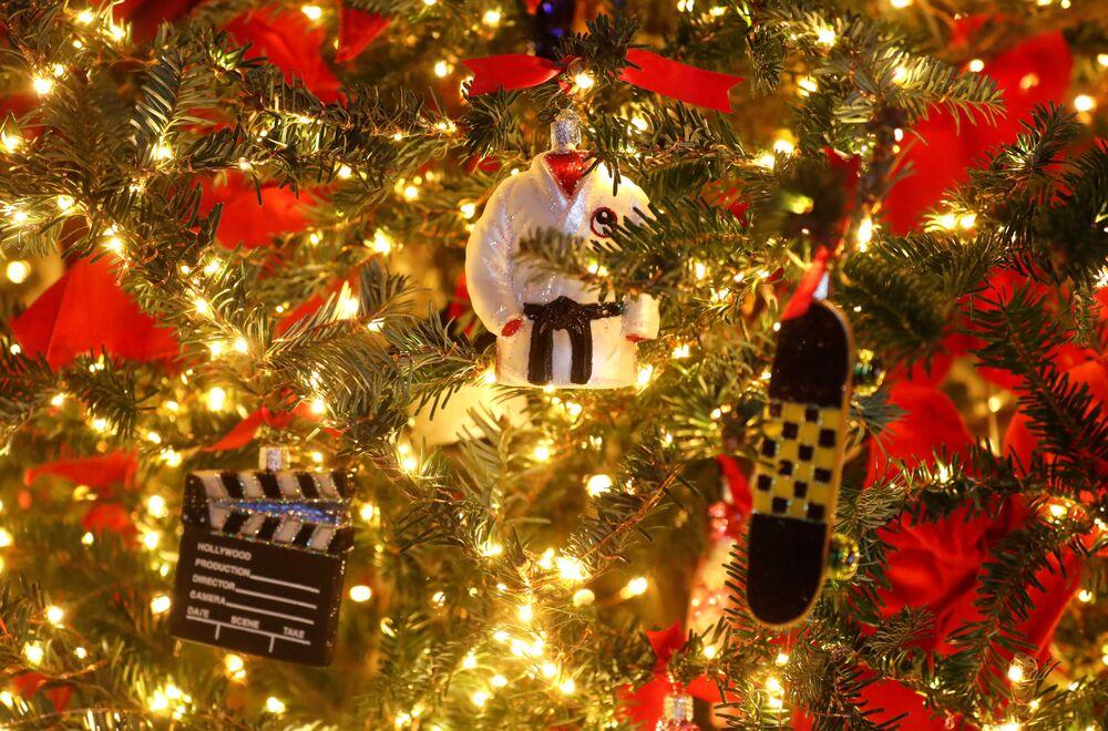 Ozdoby świąteczne w Białym Domu