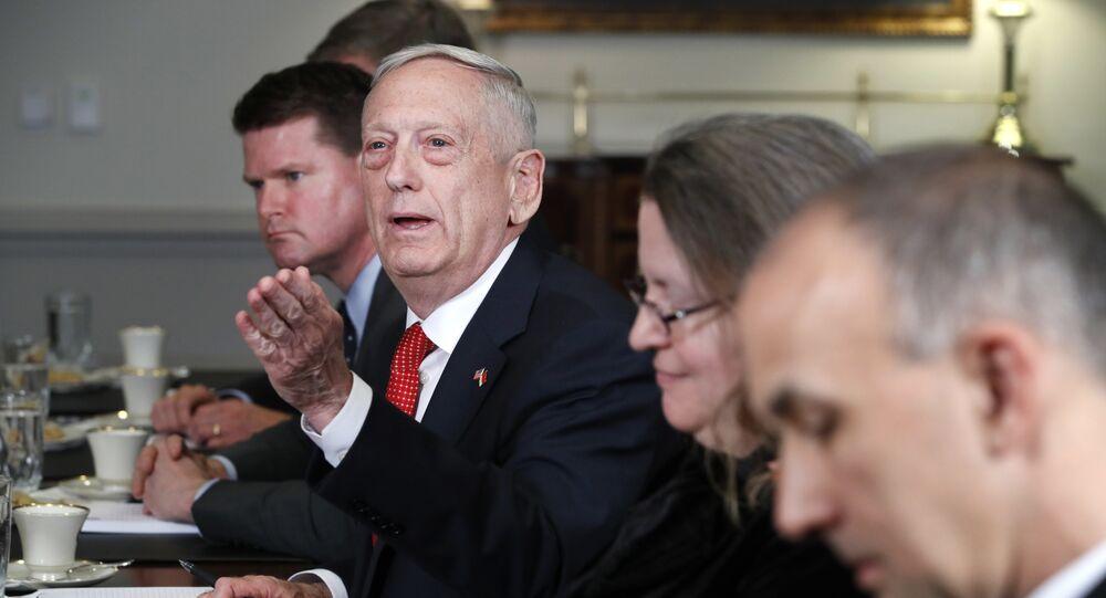 Szef Pentagonu James Mattis