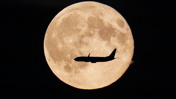 Pełnia księżyca w obwodzie moskiewskim - Sputnik Polska