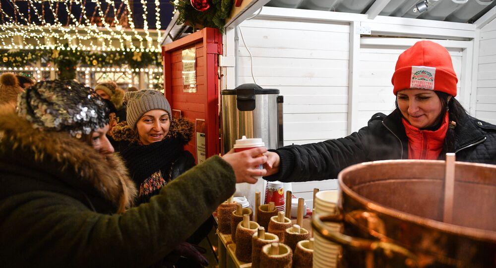 Jarmark Bożonarodzeniowy w Moskwie