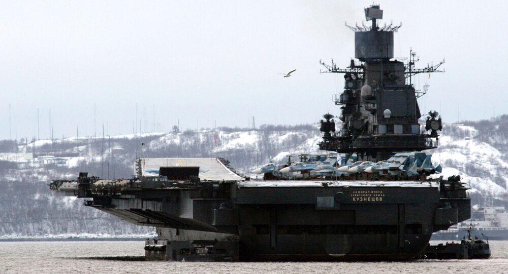Ciężki krążownik lotniczy Admirał Fłota Sowietskogo Sojuza Kuzniecow