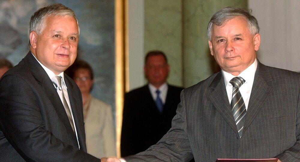 Lech i Jarosław Kaczyńscy, 10 lipca 2006