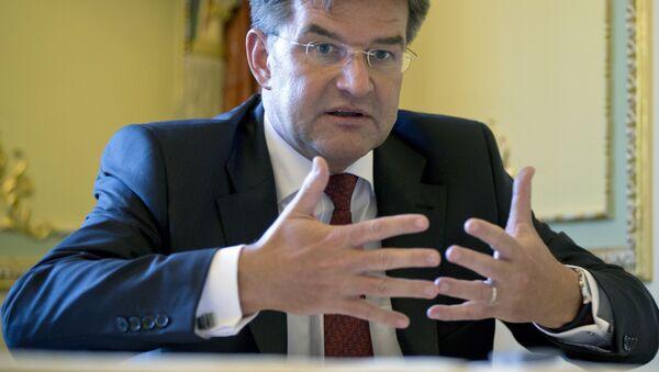Minister spraw zagranicznych Słowacji Miroslav Lajcak - Sputnik Polska