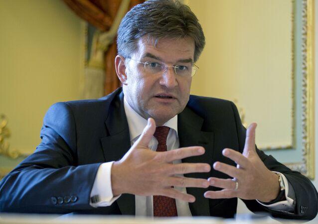 Minister spraw zagranicznych Słowacji Miroslav Lajcak