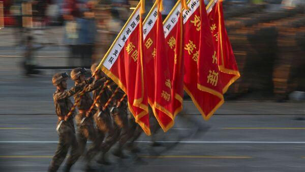 Defilada z okazji 70. rocznicy zwycięstwa w II wojnie światowej w Pekinie - Sputnik Polska
