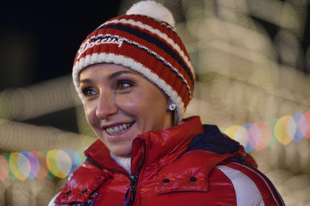Mistrzyni olimpijska Tatiana Nawka