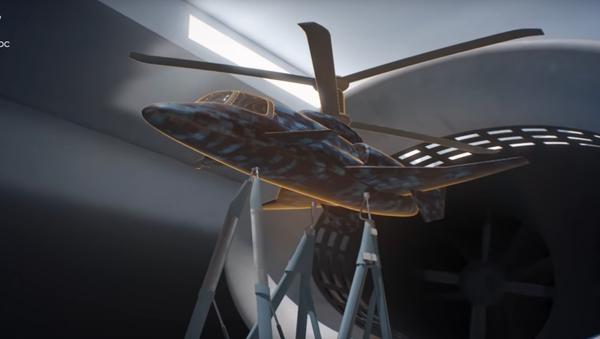 Superszybki śmigłowiec z Rosji - Sputnik Polska