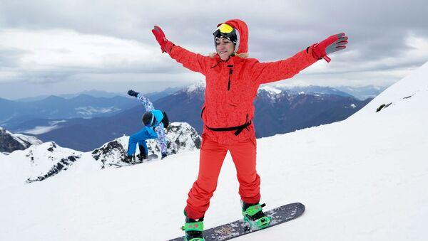 Otwarcie sezonu narciarskiego w Krasnej Polanie - Sputnik Polska