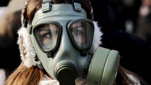 Protesty w związku z zanieczyszczonym powietrzem, Macedonia - Sputnik Polska