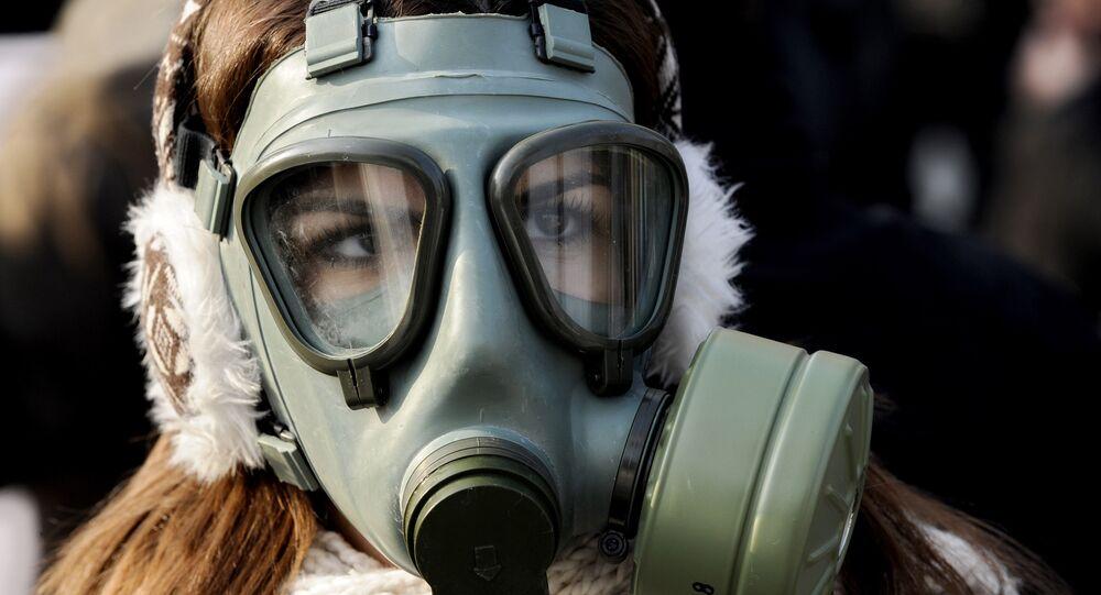 Protesty w związku z zanieczyszczonym powietrzem, Macedonia