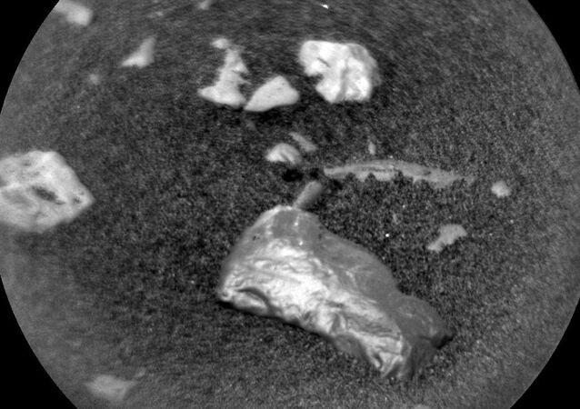 Tajemniczy przedmiot odkryty na Marsie przez łazik Curiosity