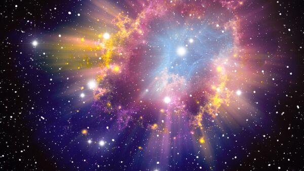 Wybuch supernowej. Zdjęcie archiwalne - Sputnik Polska