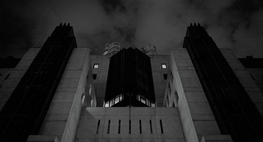 Siedziba służby wywiadowczej MI6 w Londynie