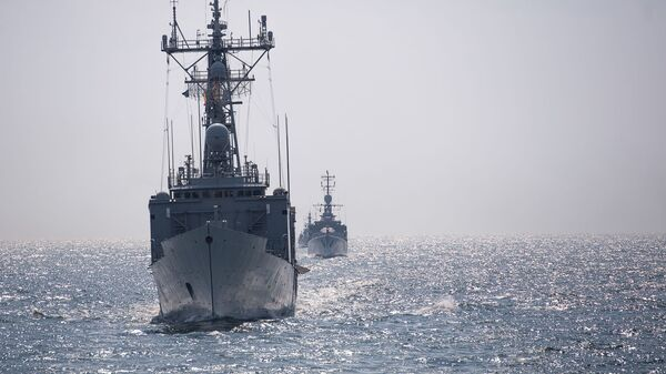 Okręty NATO na Morzu Czarnym - Sputnik Polska