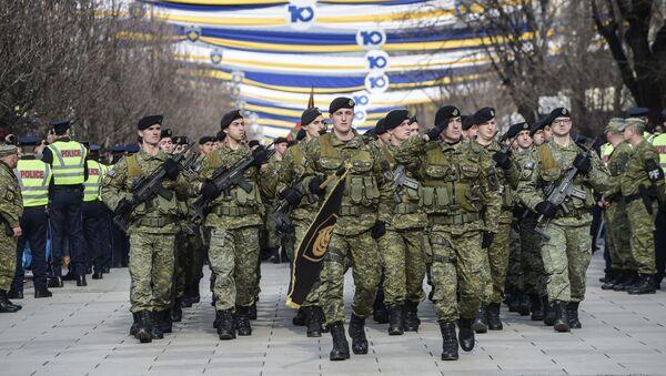 Żołnierze Sił Bezpieczeństwa Kosowa - Sputnik Polska