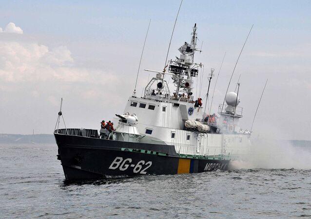Okręt patrolowy ukraińskiej marynarki wojennej BG-62 Podolje