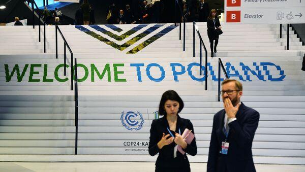 Uczestnicy 24. Konferencji Narodów Zjednoczonych w sprawie zmian klimatu (COP24) w Katowicach - Sputnik Polska
