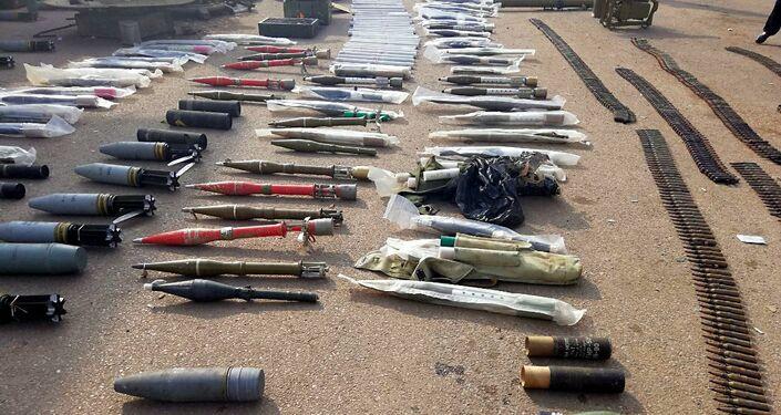 W Syrii znaleziono podziemny magazyn terrorystów