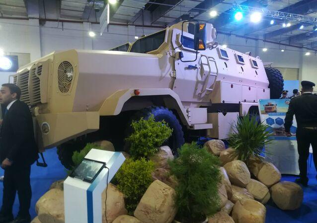 "Egipski samochód pancerny ""Timsah"" (krokodyl)"