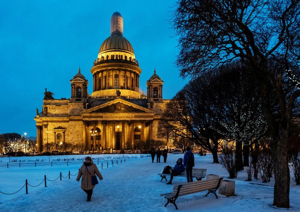 Sobór świętego Izaaka Dalmatyńskiego – największa prawosławna świątynia w Petersburgu
