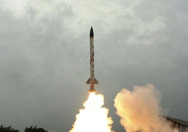 Indyjska rakieta Prahaar