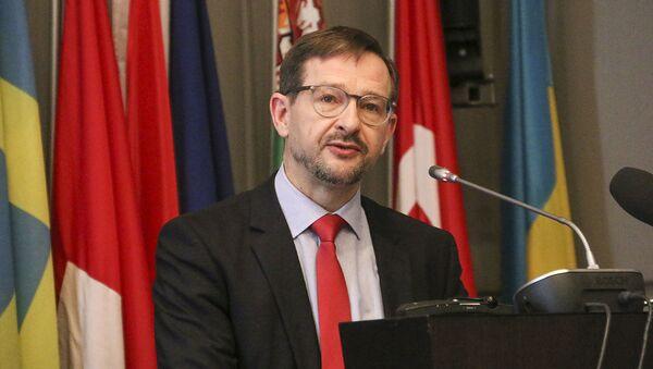 Sekretarz generalny OBWE Thomas Greminger. Zdjęcie archiwalne - Sputnik Polska