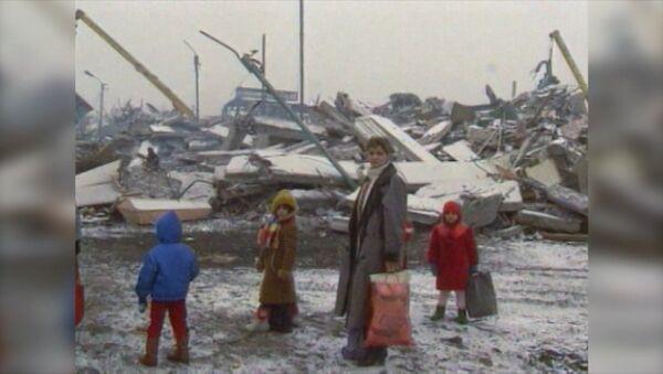 Katastrofalne trzęsienie ziemi - Sputnik Polska